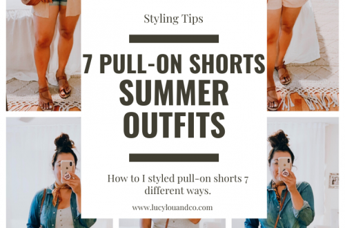 Seven ways to wear pull on shorts