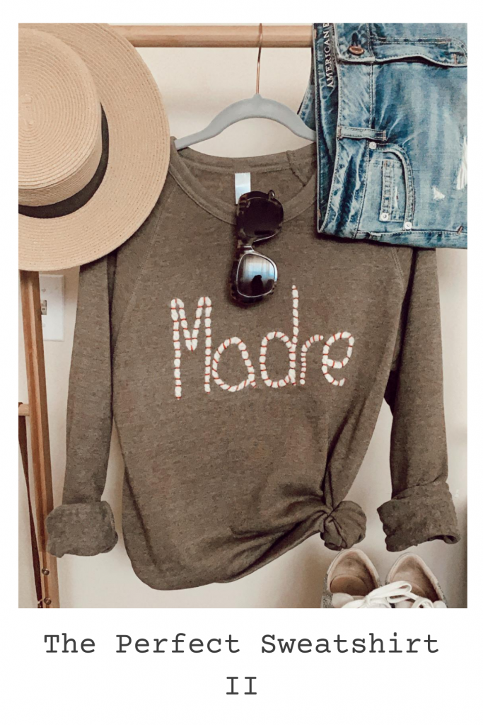 The Perfect Sweatshirt (additional colors)