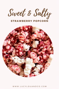 Sweet and salty strawberry Pop