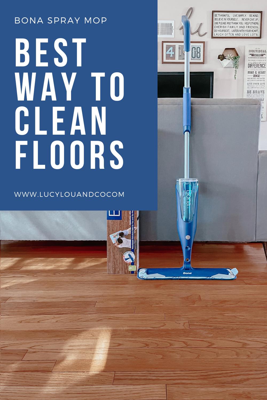 hard wood floors spray mom. Best way to clean floors.